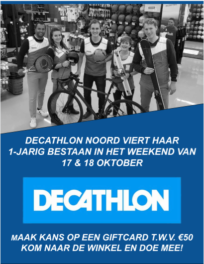 1 jaar decathlon